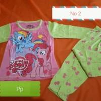 Jual Baju tidur anak perempuan karakter little pony Murah
