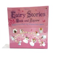 Mainan anak import - puzzle dan buku - fairy stories