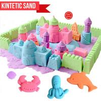 Jual Kinetic sand / Mainan Pasir lilin / Pasir kinetic playsand Murah