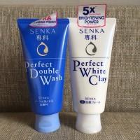 Shiseido Senka Perfect Whip & White Clay