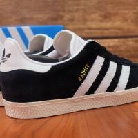 Sepatu Adidas Gazelle II OG Black white