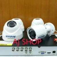 PAKET CCTV SAMSUNG 4 KAMERA 2.0 MP FULL HD 1080P HDD 1TB SIAP PASANG