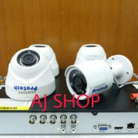 PROMO PAKET CCTV SIAP PASANG 2.0 MP SAMSUNG INDOO FULL HD 1080 HDD 1TB
