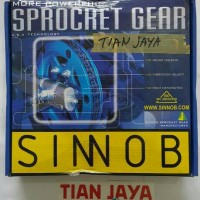 Gear set Sinnob premium mega pro new hitam