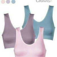 Jual GENIE BRA PASTEL MADE IN JAPAN ( 1 BOX ISI 3 PCS ) Murah