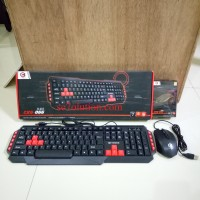 Cyborg Blade Gaming Keyboard Mouse Combo (CKG-066)