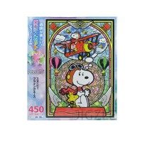 EPOCH 58-003s Peanuts - Snoopy Flying Ace 450 Pieces Jigsaw Puzzle