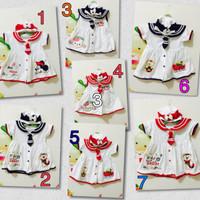 harga Baju Rok Pelaut Balita Plus Topi / Dress Navy Tokopedia.com