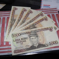 Uang Rp 5000 Teuku Umar Th1986 Vf Plus To Xf Iklan E537