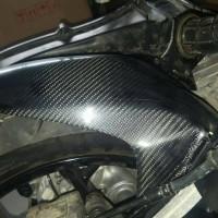Spakbor Kolong-Hungger belakang Carbon Kevlar Yamaha Xmax 250cc