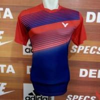 Baju Badminton Victor Kaos Baju Bulutangkis Atasan Olahraga