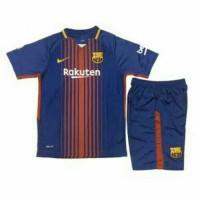 Jersey Baju Bola Barca Barcelona Home 17/18 Kids Anak Kecil Grade Ori