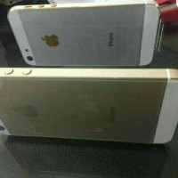 apple iphone 5 16gb white gold - garansi distributor