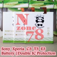BATERAI SONY XPERIA C3 T3 E3 D2533 RAKKIPANDA DOUBLE POWER PROTECTION
