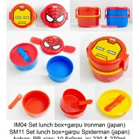 Lunch Box Skater Ironman 2 Susun ORI