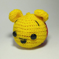 Jual Gantungan kunci/ Bagcharm Disney Tsumtsum Pooh Murah