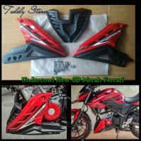 Undercowl Cover Engine Honda All New CB150R CB 150R Led Merah Ferrari