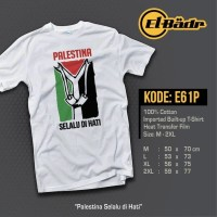 Kaos El-Badr  Palestina Selalu Di Hati