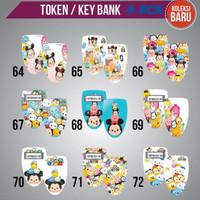 Garskin Token bank BCA, MANDIRI dan BNI