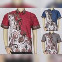 Jual Baju Batik Blok Modern || Batik Pria Murah