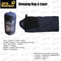 Jual Sleeping Bag Triple Layer Polar Dacron Extra Hot Tidur di Tenda Campin Murah
