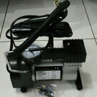 Pompa ban Elektrik / Kompresor Mini Prtbabel Untuk Mobil 100 PSI