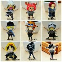 IRing / Ring Holder / Penyangga HP Karakter One Piece Luffy Sanji Lucu