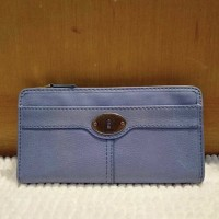 Fossil Marlow Zip Clutch Crystal