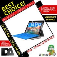 harga Bnib Microsoft Surface Pro 4 I5 4gb 128gb Garansi Resmi Inter 1 Tahun Tokopedia.com