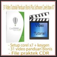 Jual BELAJAR COREL DRAW - 31 Video Murah