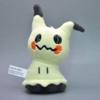 Boneka Mimikyu Pikachu Plush Keychain Doll Pokemon Go Digimon