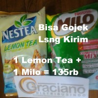 Jual Nestea Lemon Tea 1kg + Milo Complete Mix Profesional 960gr Nestle Murah