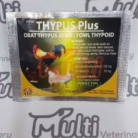 Thypus Plus Obat Anti Tifus Ayam Fowl Thypoid Typhoid Typhus Tifes