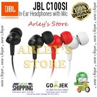 Jual JBL C100SI In-Ear Original Garansi 1 Tahun Murah