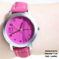 jam tangan fossil tali kulit wanita supplier distributor murah guess