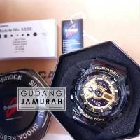 G Shock GA110 GB 1A Glossy Black Gold