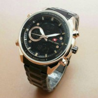 Jual jam tangan pria anti air rantai analog swiss army casio edifice seiko  Murah