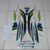 Stiker Fino Sport 2015 biru hijau