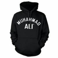 Jaket Distro | Hoodie Jumper Hitam Muhammad Ali