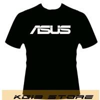 Tshirt -HITAM-ASUS - KG13 STORE