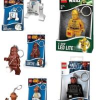 Lego Keychain LED Key Chain r2d2 Darth Maul C3PO AF88