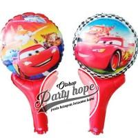 balon pentung cars / balon cars / balon stick / balon foil / cars
