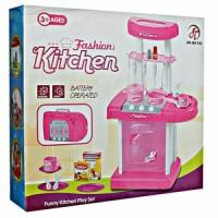 Jual Mainan Anak Masak-Masakan Kitchen Set Koper Mini Murah
