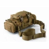 Jual Tas slempang selempang pinggang waistbag tactical army pria wanita Murah