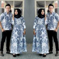 harga Baju Batik Couple Sarimbit Kebaya Gamis Keluarga Modern Seragam Pesta Tokopedia.com