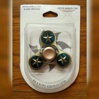 METAL FIDGET SPINNER - gambar BLUE STAR