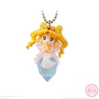 Twinkle Dolly Neo Queen Serenity & Silver Crystal Charm Strap