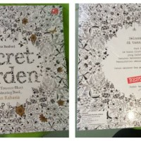 Jual Buku Mewarnai Coloring Book Secret Garden Murah