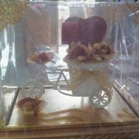 Souvenir pernikahan tempat cincin pengantin