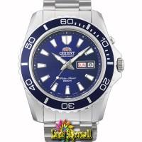 Jam Tangan Pria Orient Mako FEM75002D Automatic Dive Watch Blue Dial